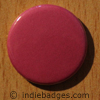 Pink Coloured Button Badge