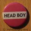 Pink Head Boy Button Badge