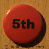 Red 5th Button Badge