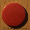 Red Coloured Button Badge