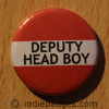 Red Deputy Head Boy Button Badge