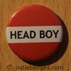 Red Head Boy Button Badge