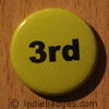Yellow 3rd Button Badge
