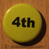 Yellow 4th Button Badge