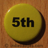 Yellow 5th Button Badge