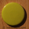 Yellow Coloured Button Badge