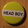 Yellow Head Boy Button Badge