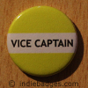 Yellow Vice Captain Button Badge