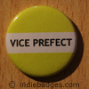 Yellow Vice Prefect Button Badge