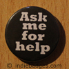 ask me for help button badge