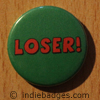 Loser Green Button Badge