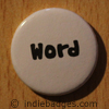 word button badge