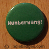 Numberwang Button Badge