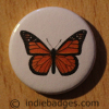 Vintage Butterfly 10 Button Badge