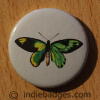 Vintage Butterfly 4 Button Badge