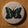 Vintage Butterfly 5 Button Badge