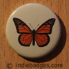 Vintage Butterfly 7 Button Badge