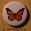 Vintage Butterfly 9 Button Badge